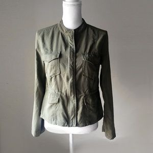 ANTHROPOLOGIE Sanctuary military utility jacket s